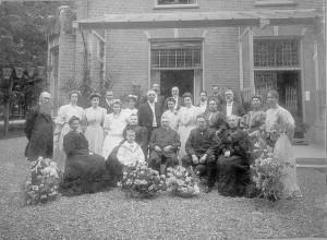 December 1901 familiefoto voor Jagtlust