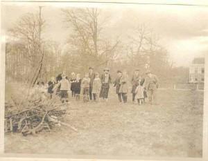 paasvuur voor jagtlust 1932